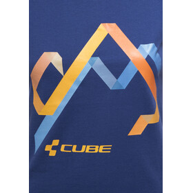 Cube Hills T-Shirt Damen blue